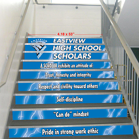 PBIS Step-Up  Stair Graphics