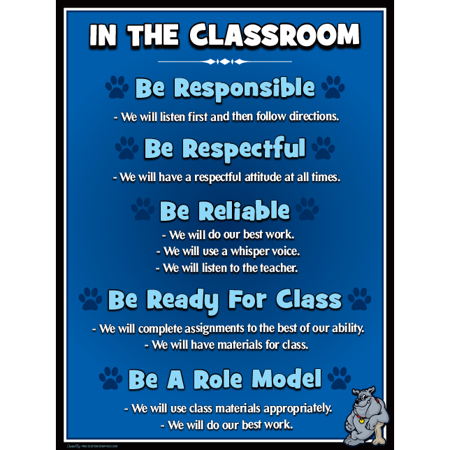 PBIS Poster boards and banners