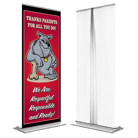 Pull-Up Retractable Banner Stands