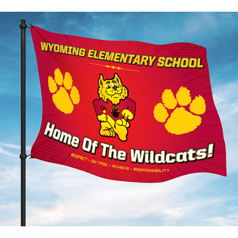 Single & Double-Sided School Flags